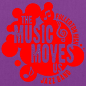 The Music Moves Us Fullerton High Jazz Band - Tote Bag