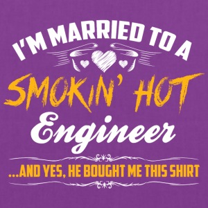 engineer married - Tote Bag