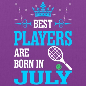 Best Players Are Born In July - Tote Bag