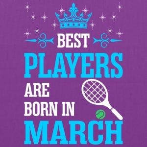 Best Players Are Born In March - Tote Bag