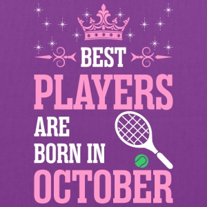 Best Players Are Born In October - Tote Bag