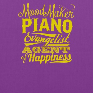 Mood maker piano evangelist agent of hapines - Tote Bag