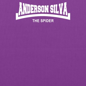 Anderson The Spider Silva Slogan - Tote Bag