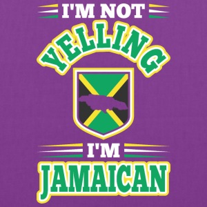 Im Not Yelling Im Jamaican - Tote Bag