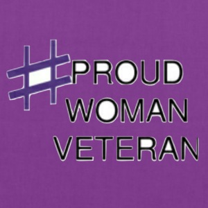 Proud Woman Vet - Tote Bag