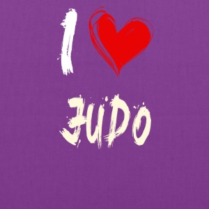 I love JUDO - Tote Bag