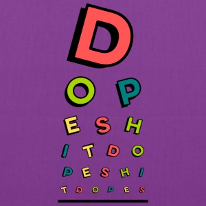 Dope Eye Chart - Tote Bag