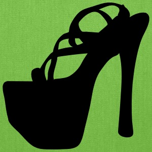 Vector high heels shoes Silhouette - Tote Bag