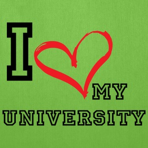 I_LOVE_MY_UNIVERSITY - Tote Bag