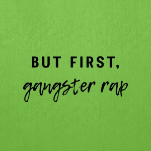 Gangster Rap - Tote Bag