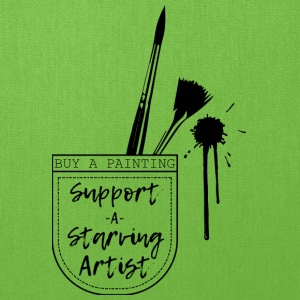 Support a Starving artist (2) - Tote Bag