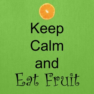 Keep-Calm-and-Eat-Fruit - Tote Bag