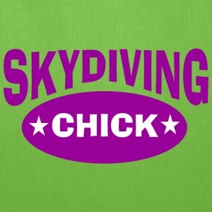 Skydiving chick - Tote Bag