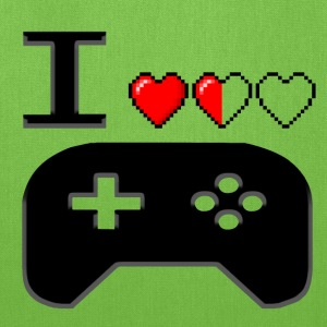 I Love Gaming Black - Tote Bag