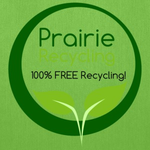 Prairie Recycling Official Logo - Tote Bag