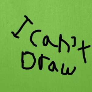I can't draw - Tote Bag