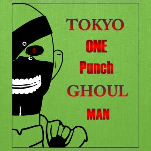 Tokyo One Punch Ghoul Man - Half view - Tote Bag