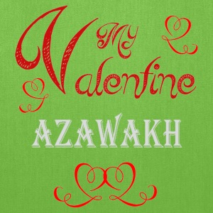 A romantic Valentine with my Azawakh - Tote Bag