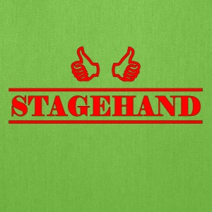 stagehand red - Tote Bag