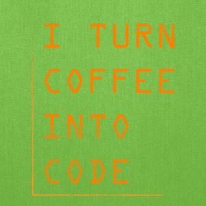 Programmer Gift-Turn coffee into code-Shirt,Hoodie - Tote Bag