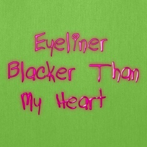 Eyeliner Blacker - Tote Bag