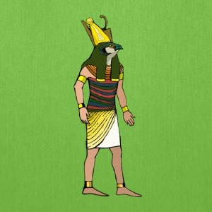 Ancient Egyptian Painting - Horus, the Falcon God - Tote Bag