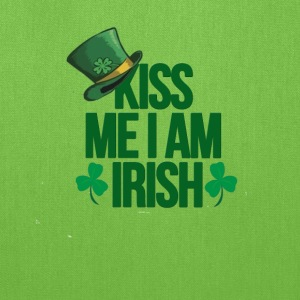 Kiss me i am irish saint patrick tshirt - Tote Bag