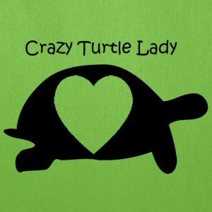 Crazy Turtle Lady - Tote Bag