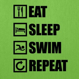 EAT SLEEP SWIM REPEAT - Tote Bag