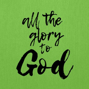 All the glory to god - Tote Bag