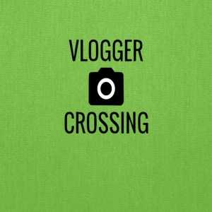 VLOGGER CROSSING - Tote Bag