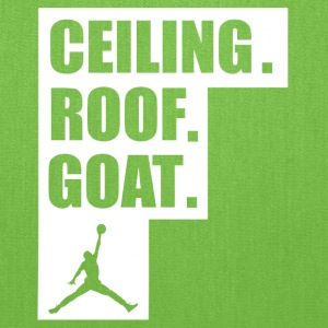 ceiling roof goat shirt - Tote Bag