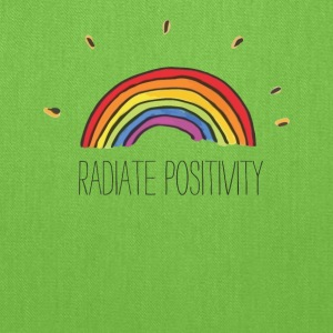 Radiate Positivity - Tote Bag