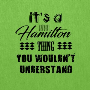 It's A Hamilton Thing - Musical Design - Tote Bag