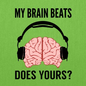 My Brain Beats - Tote Bag