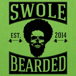 Swole And Bearded Classic Tee - Tote Bag