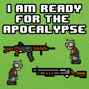 Ready For The Apocalypse 8-Bit - Tote Bag