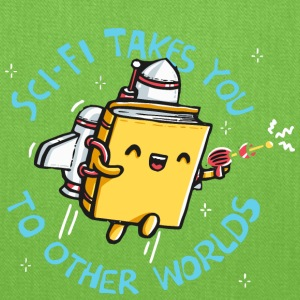 SCI FI TAKES YOU TO OTHER WORLDS - Tote Bag