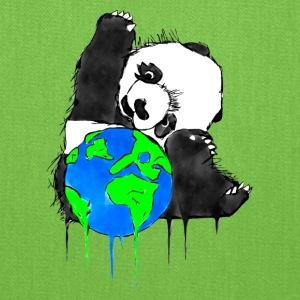 Earth Day Panda, Earth Bear - Tote Bag
