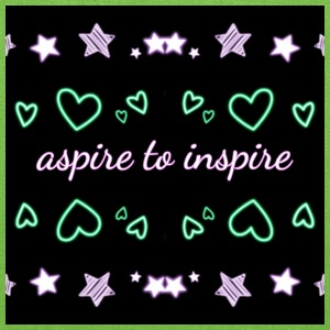 Aspire to inspire - Tote Bag