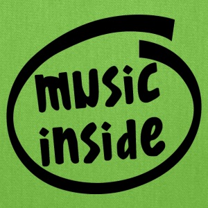 music inside (1804A) - Tote Bag
