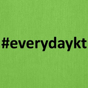 everydaykt single - Tote Bag