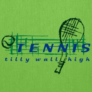 TENNIS tilly wall high - Tote Bag