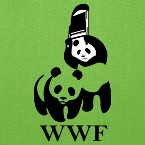 WWF parody fighter - Tote Bag