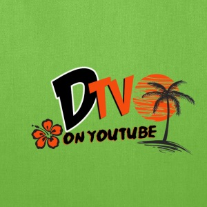 DTV VLOG Title California Logo on youtube - Tote Bag
