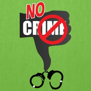 No Crime - Tote Bag