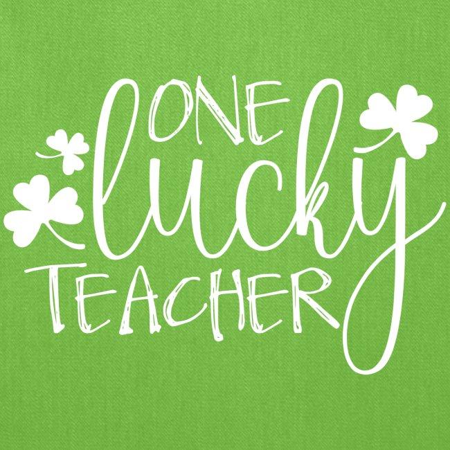One Lucky Teacher