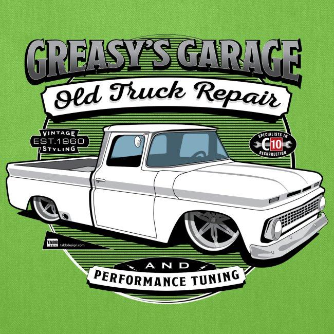 Greasy's Garage Old Truck Repair