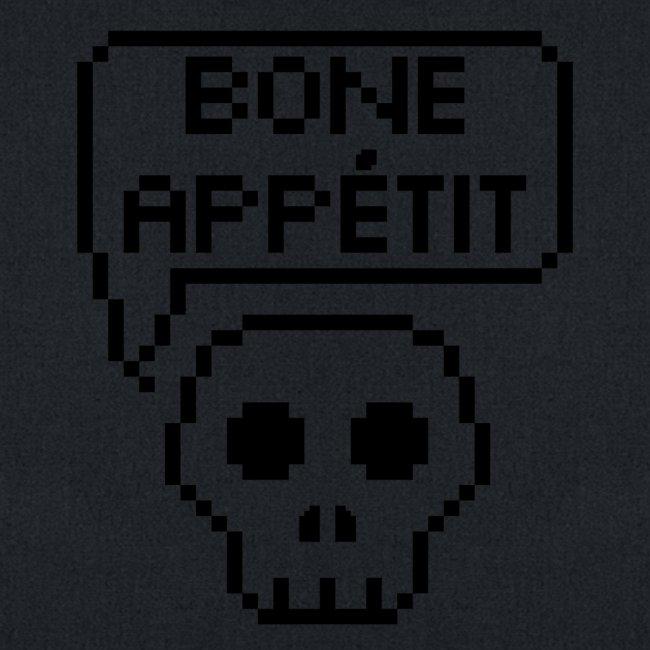 Bone Appetit (Black Outline)