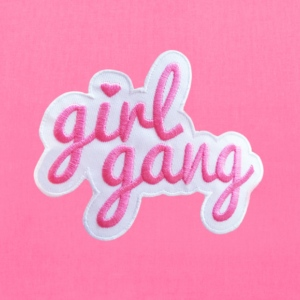 Girl Gang Patch - Tote Bag